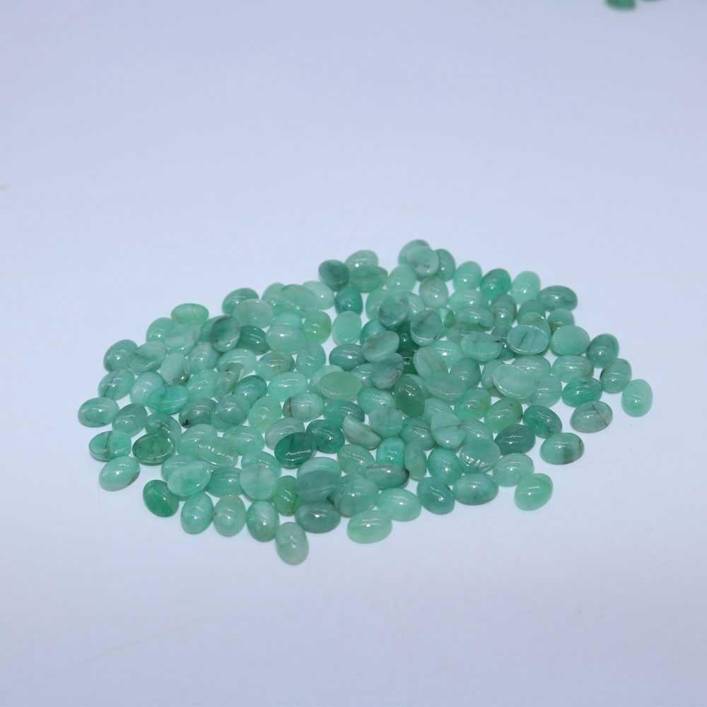 6 mm Natural Round Sakota mine Emerald from Brazil for One